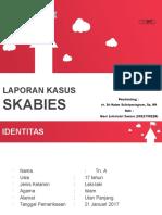 LAPORAN KASUS SKABIES PPT