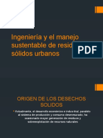 Ingeniería y el manejo sustentable de residuos sólidos.pptx