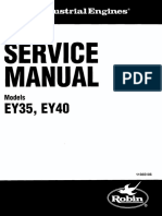 Service Manual EY35 EY40 Robin