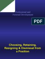 Concept II Professional Personal Development