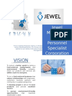 Jewel Manpower and Personnel Specialist Corporation Profile