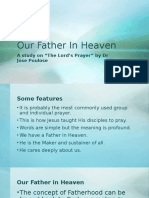 Study on Lord's Prayer Dr. Jose Paulose
