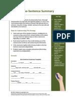 One Sentence Strategy.pdf
