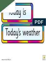Multi Calendar Labels for Class Display