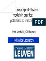 Wave modelling with the aid of SWAN models - Presentation  Theoretical background