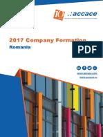 2017 Company Formation in Romania