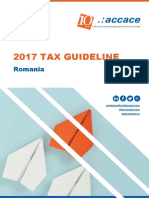 2017 Tax Guideline Romania