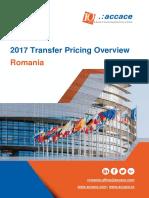 2017 Transfer Pricing for Romania