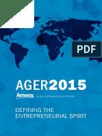 Amway Global Entrepreneurship Report 2015 Online