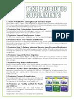 10 Reasons Probiotics