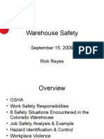 Warehouse OSHA PPT