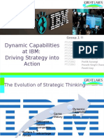 IBM - Dynamic capabilities