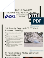 Top 10 Favorite Ronnie Fieg Collabs