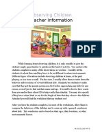 observing-children-worksheet