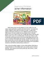observing-children-worksheet