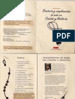 Bisuteria y Complementos de Moda Con Cuentas y Abalorios