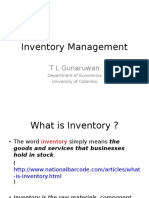 Inventory Management - 2015 - TLG.ppt