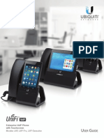 Unifi VoIP Phone User Guide