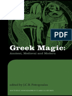 Greek magic-Ancient, Medieval anh Modern, 2008.