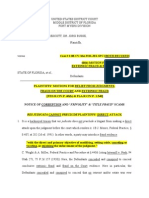 Res Judicata, 60 (b) Motion, 2 08-CV-364-FTM-JES-SPC