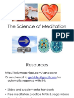 McGonigal - The Science of Meditation.pdf