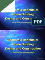 Economic Benefits of Green Buildings.