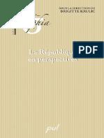 [Brigitte Krulic] La République en Perspective