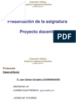 Proyecto docente expresion grafica ya tu sae