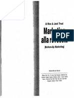 Al Ries and Jack Trout - Marketing Alla Rovescia (Bottom-Up Marketing) - McGraw-Hill Libri Italia Srl