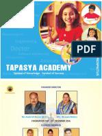 Tapasya Academy Prospectus- 2017-18