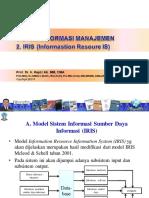 2. Hapzi Ali, Information Resoure Information System (IRIS), UT