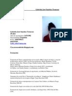 Currículum  Gabriela