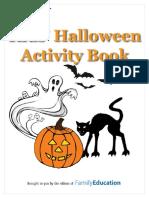 HalloweenActivityBooklet Cls 1-8