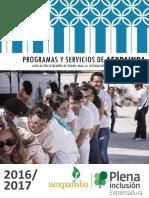 Guia de Servicios Para Limites en Extremadura 2016 y 2017 Sanitarios
