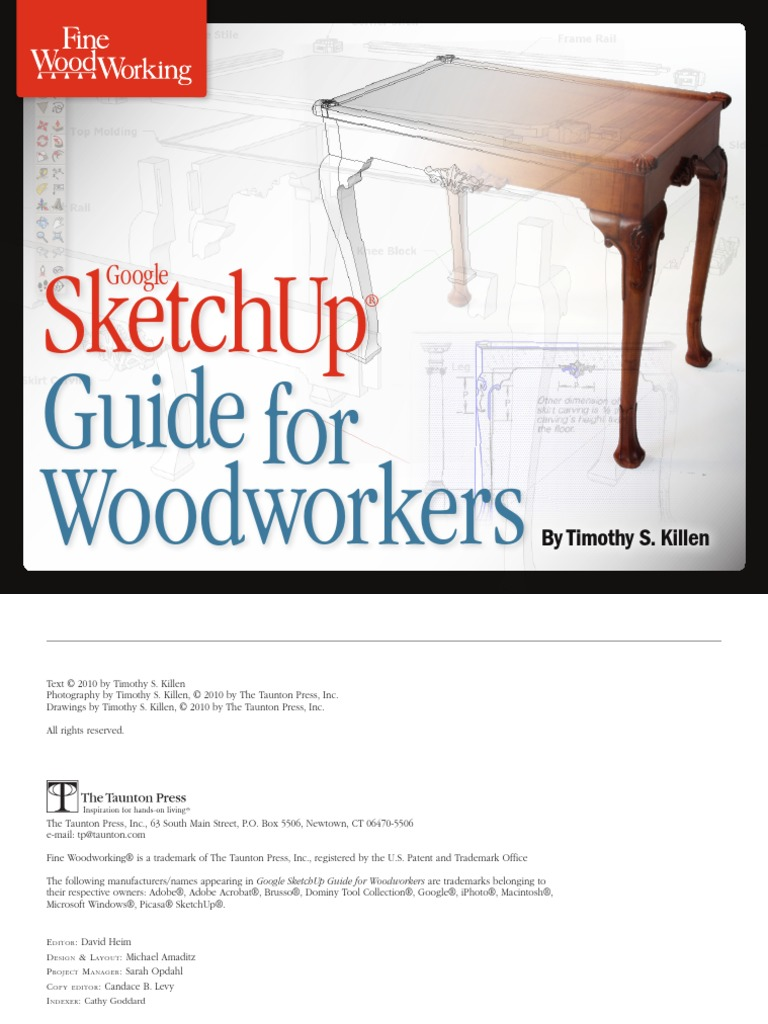 Fine Woodworking - Google Sketchup Guide for Woodworkers(2010)BBS