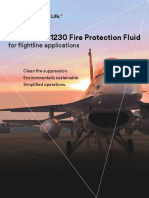 3m Novec 1230 Fire Protection Fluid Flightline Applications
