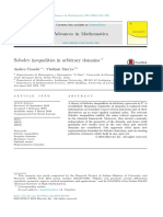 Sobolev Inequalities in Arbitrary Domains