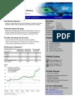 Factsheet AlfaAdvisors' Total Return Wikifolio Eng Q4/16