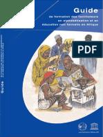 Guide de formation des formateurs en an alphabétisation et en éducation non formelle en Afrique