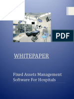 Importance of Fixed Asset Management Software for Hospitals