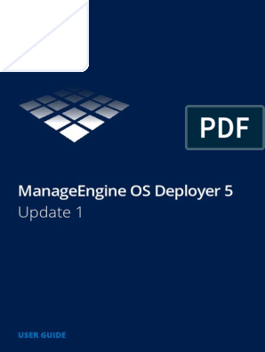 ManageEngine OS Deployer | Operating System | Booting