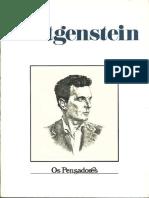 Wittgeinstein - Os Pensadores