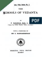 The Schools of Vedanta