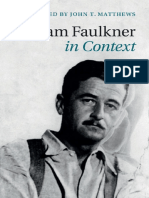 John T. Matthews-William Faulkner in Context-Cambridge University Press (2015)
