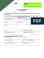 Emmaus UK Application Form Part 1