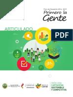 Cartagena Acuerdo 006 2016 Plan de Desarrollo