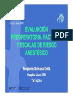 Evaluacion Preoperatoria. Factores y Escalas de Riesgo Anestesico. Oct13.pdf