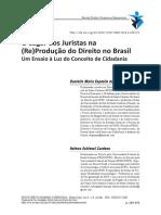 2016_O Lugar Dos Juristas Na Reprodução Do Direito No Brasil