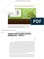 Projeto Instalações Elétrica Residencial – Parte 3 • Sala Da Elétrica