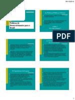 7 Políticas de Desenvolvimento Para o Brasil